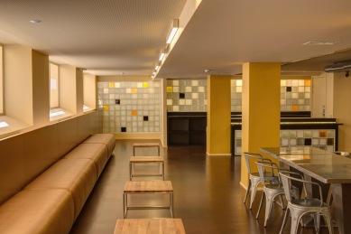 Mensa, Collège néerlandais, Parijs ©Paul Raftery