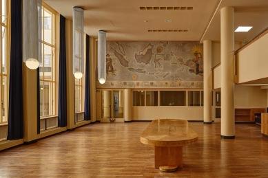 Grote zaal beneden, Collège néerlandais, Parijs ©Paul Raftery