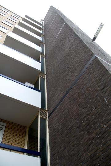 Flatgebouwen met woningen, Van Nijenrodeweg, Buitenveldert, Amsterdam