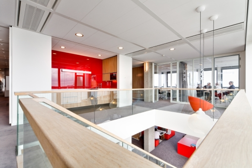 Interieur Havengebouw. Gerenoveerd en ingericht door Fokkema & Partners Architecten, Delft. Foto: Horizon Photoworks, Rotterdam.