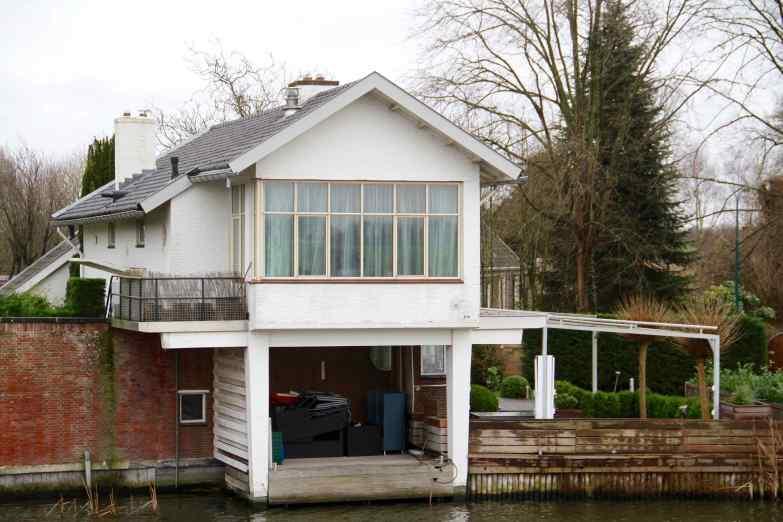 Brug en villa, Vreeland.