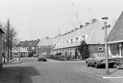 Slachthuisplein. Kruising Slachthuisplein / Kievitstraat / Ehrlichstraat. Bron: Streekarchief Gooi en Vechtstreek Hilversum, www.gooienvechthistorisch.nl