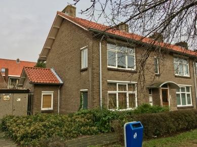 22e woningbouwcomplex, Jupiterstraat, Planetenstraat Hilversum. Foto Peter Veenendaal.