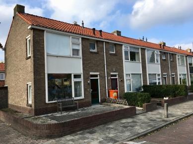 Hertog Aelbrachtstraat, Hilversum. Onderdeel van 25e woningbouwcomex. Foto Peter Veenendaal.