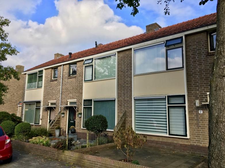 Van Nijenrodestraat, Hilversum. Onderdeel van het 25e woningbouwcomplex. Foto Peter Veenendaal.