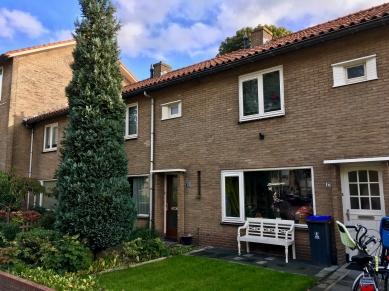 Coomes Oolenstraat, Hilversum. Onderdeel van het 25e woninbouwcomplex. Foto Peter Veenendaal.