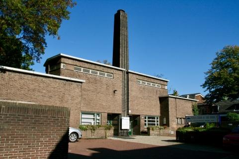 Badhuis, Bosdrift Hilversum. Foto Peter Veenendaal
