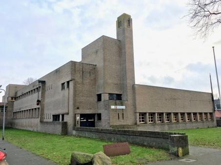 Bavinckschool, Bosdrift Hilversum (1922), naar een ontwerp van Dudok. Foto Peter Veenendaal