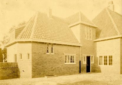 Gemeentewerf aan het Langewenst, Hilversum. Foto: archief www,gooienvechthistorisch.nl