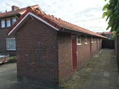 20e woningbouwcomplex, Adelaarstraat Hilversum. Foto Peter Veenendaal.
