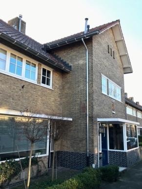 Woningbouwcomplex Philip Vingboonsstraat, Tilburg. Bouw 1938. Foto Peter Veenendaal.