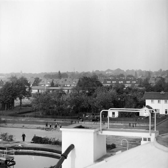 Waterzuivering West, Diependaalselaan Hilversum. Foto: archief www.gooienvechthistorisch.nl