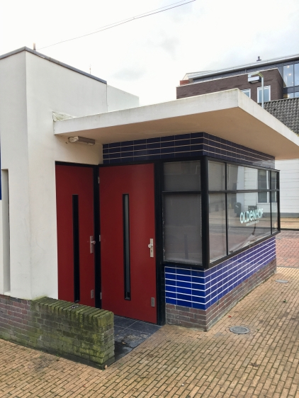 Kiosk uit 1931, naar een ontwerp van architect B. H. Bakker. Foto: Peter Veenendaal