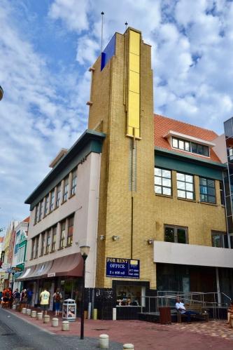 KNSM building Curacao, byAndrew Lisowski