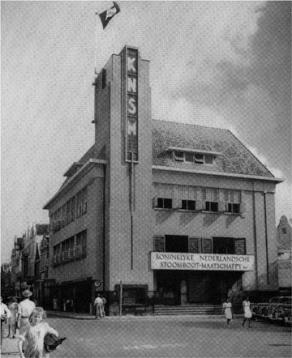 KNSM-gebouw Willemstad