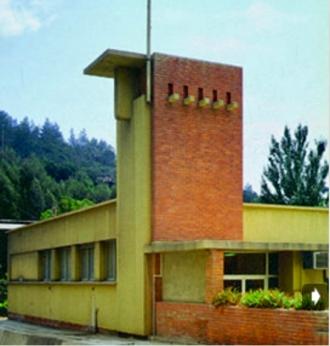 School Secil fabriek, Setúbal