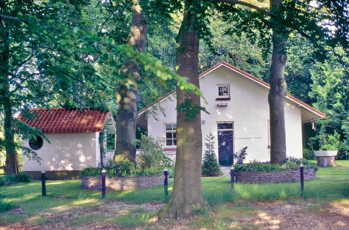 woonhuis door architect Willem Dudok in Hilversum