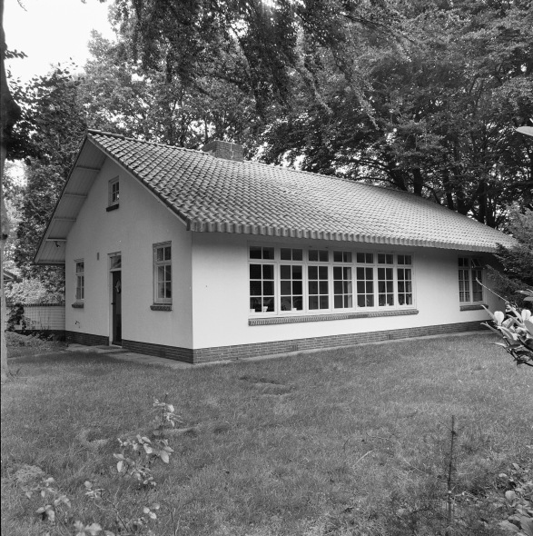 woonhuis in Hilversum door architect Willem Dudok